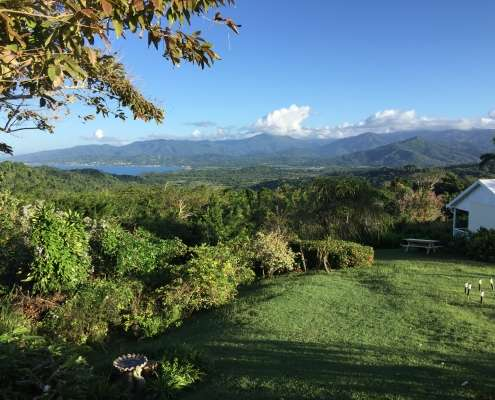 Cottage view at Green Castle, Jamaica