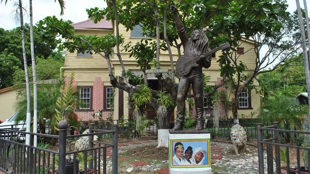 Explore Bob Marley's legacy in the Bob Marley Museum