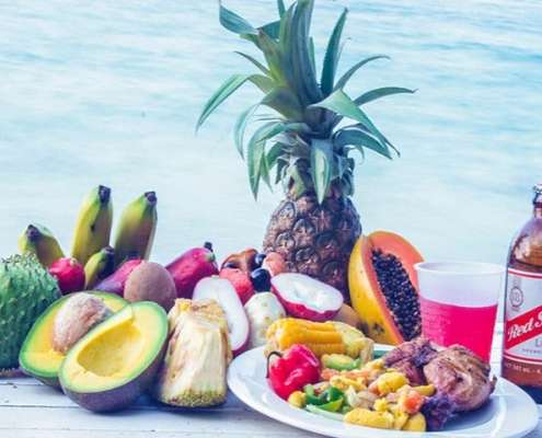 Authentic Taste of Jamaica Beach Cookout guided Tour