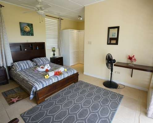 Woodpecker suite luxury rooms in Jamaica at Green castle hotel