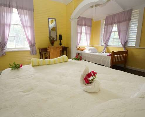 Double cottage rooms holidays in Jamaica