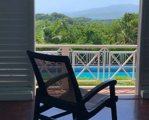 Potoo Superior Cottage rooms at Green castle Hotel Jamaica