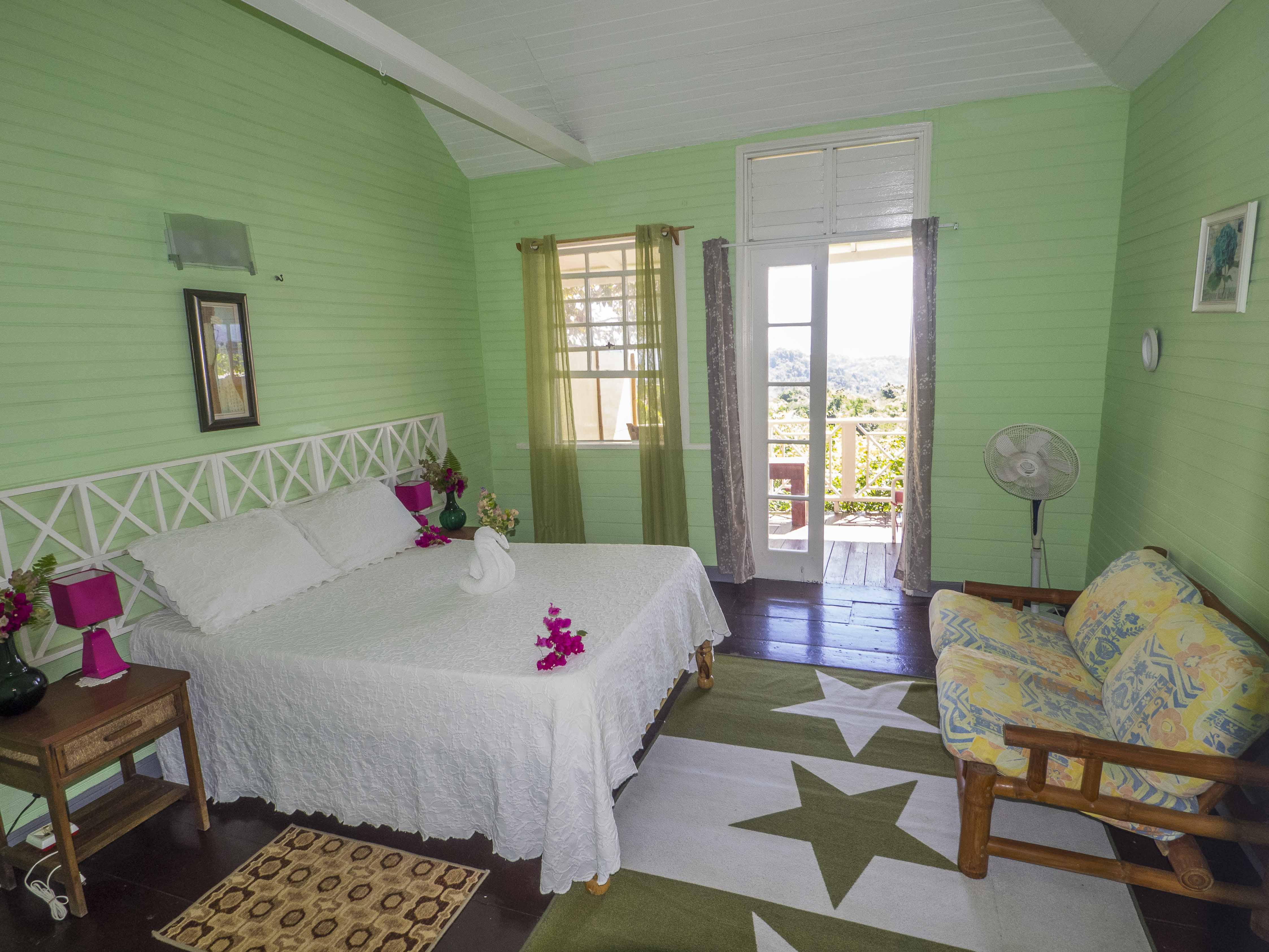 Vervain Period Cottage rooms at Green Castle Jamaica
