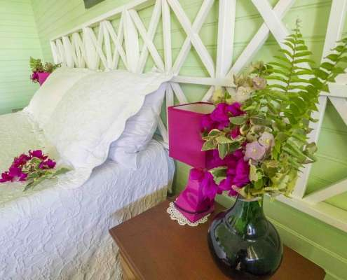 Double ensuite period cottage rooms at Greencastle hotel