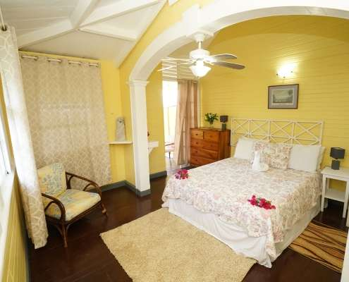 Period cottage rooms at Green Castle hotel Jamaica