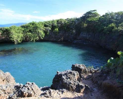 Blue Hole at Green Castle
